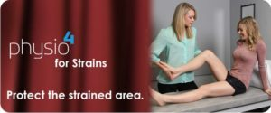 Healing of Strains Tip #2: Protect the strained area
