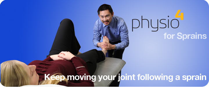Move joints after Sprain