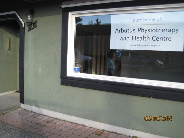 Arbutus physiotherapy on Amphion street