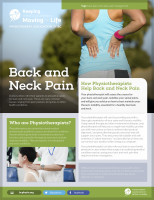 How physiotherapists can help Back and Neck Pain Page 1