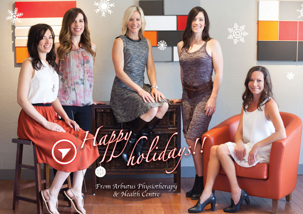 The team at Arbutus Physio wishes you a Happy Holidays!