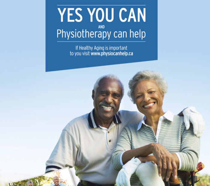 Yes You Can, healthy aging poster