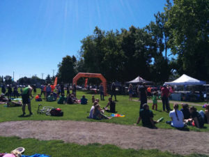 What a beautiful day at the Triathlon of Compassion in Esquimalt 2016