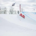 Mike Gotuaco rips up the snowboarding