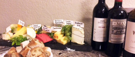 Wine and cheese at the clinic to help with collaboration