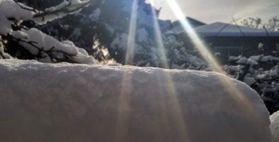 Snow in Victoria!