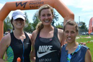 Participants in the Triathlon of Compassion
