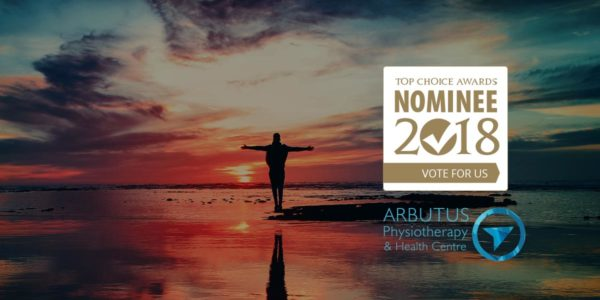 Arbutus physio is excited to be a 2018 Top Choice Award Nominee