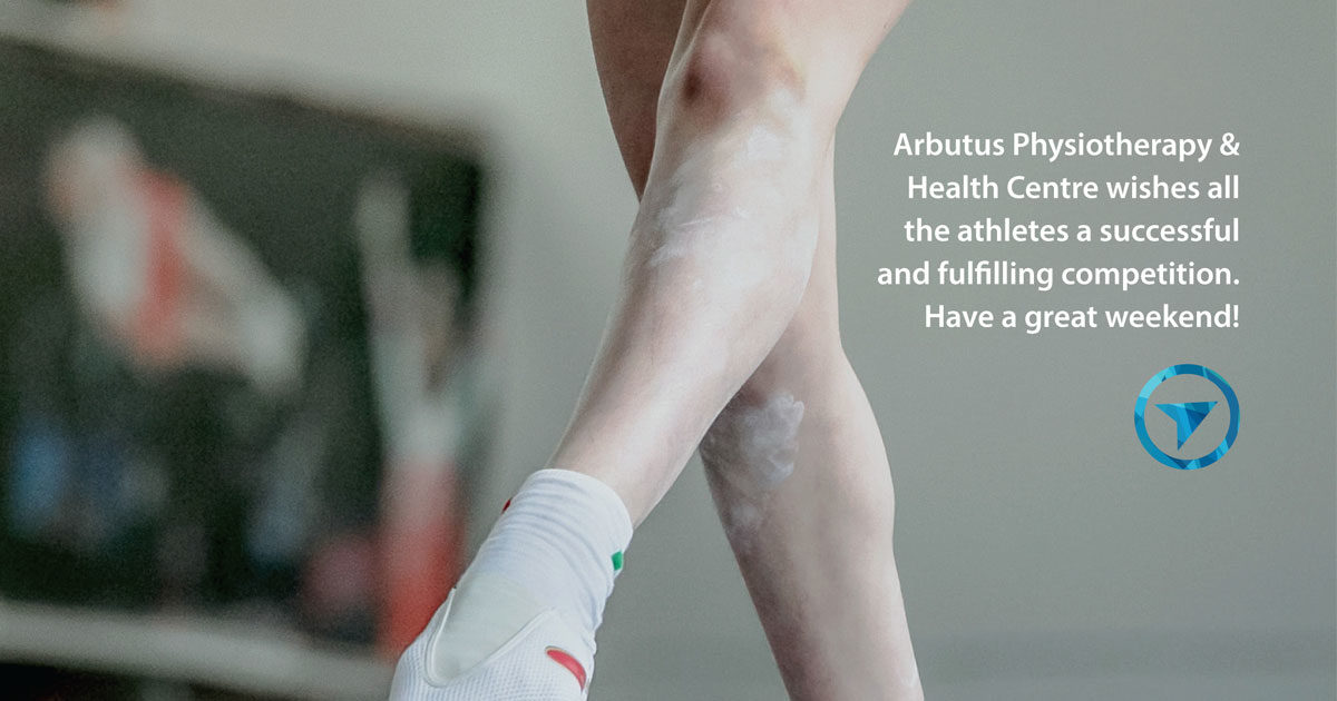 Arbutus Physio wishes all the competitors of the Garden City Invitational 2018 good luck!