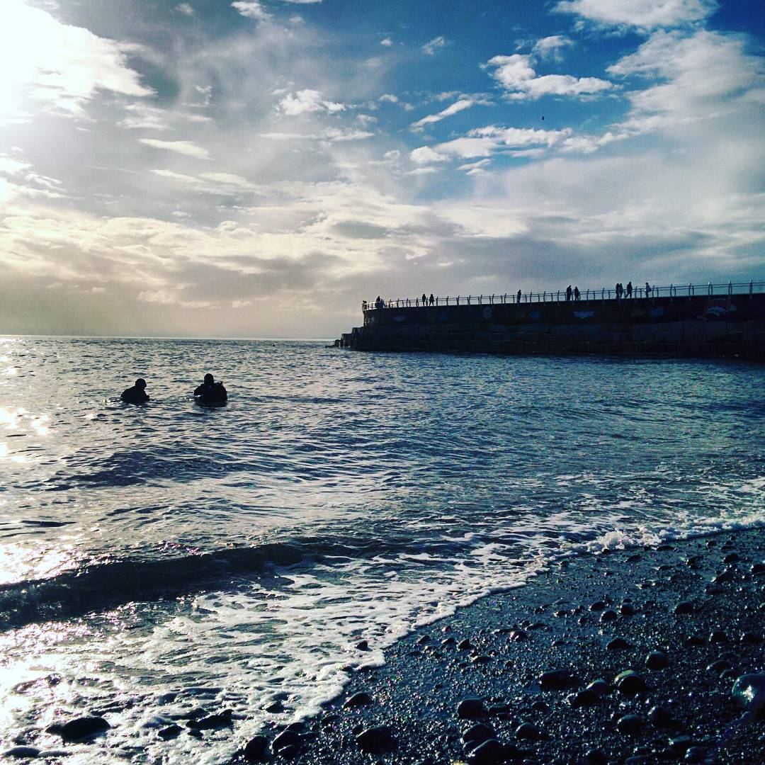 Choose to Move: Swimming at Ogden Point
