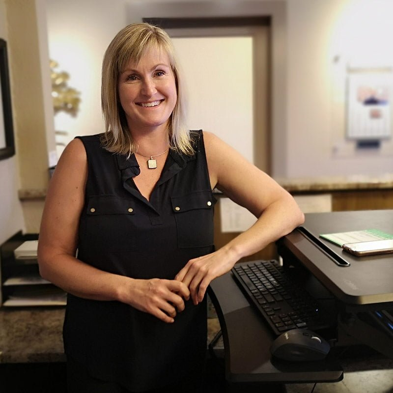 Physiotherapy business manager at Arbutus, Amber Rodgers.