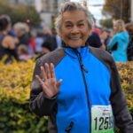 Tito Messer at the Victoria Marathon.